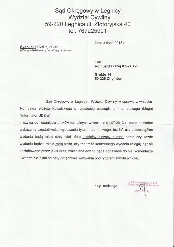 Scan - rejestracja wydawnictwa